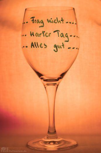 Mein neues Feierabend-Weinglas! #lustigegeschenke