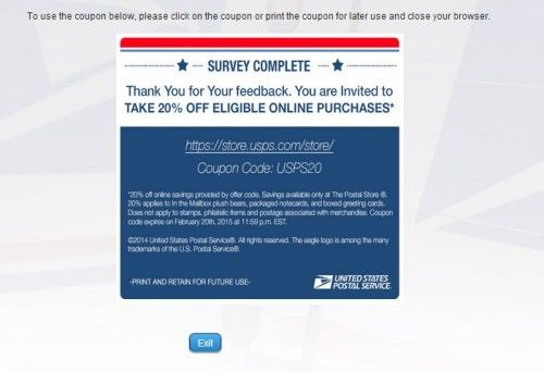 Usps Guest Experience Survey Surveys Customer Survey Guest Experience