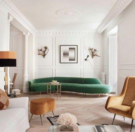 Best Living Room Decor Green Sofa Interior Design 55 Ideas