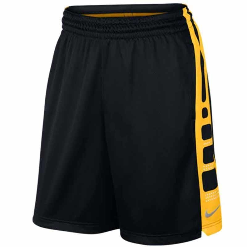 Nike Mens Maize Black Yellow 9 Basketball Shorts Sz Xl 718378 010 Nike Shorts Nike Men Athletic Outfits Basketball Shorts
