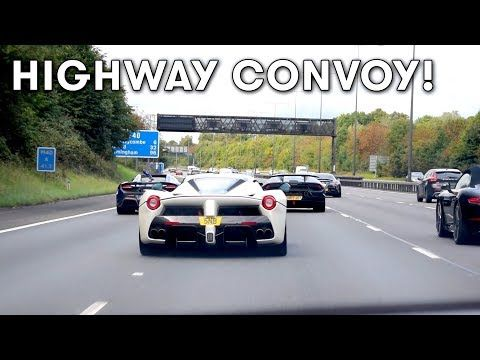 Cars And Coffee Brings Supercar Madness To London Watch Video