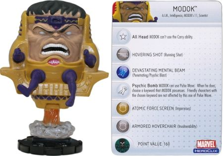 MODOK #050 Captain America Marvel Heroclix Single - Marvel: Captain America - Heroclix