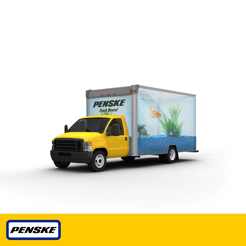 Our Latest Halloween Costumed Penske Rental Truck