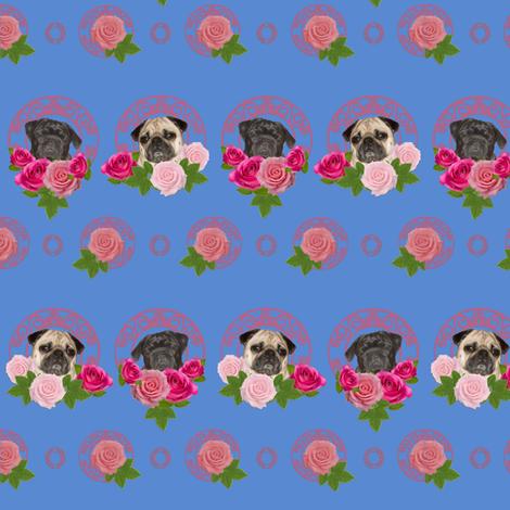 Wallpaper Pug wall paper pugs n roses Pug
