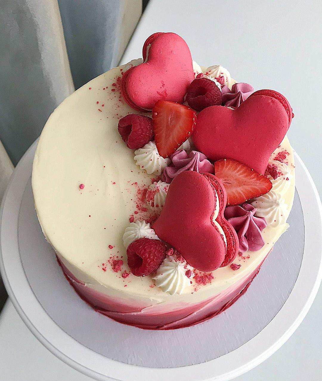 торт на день святого валентина фото рецепт наконец решилась опубликовать