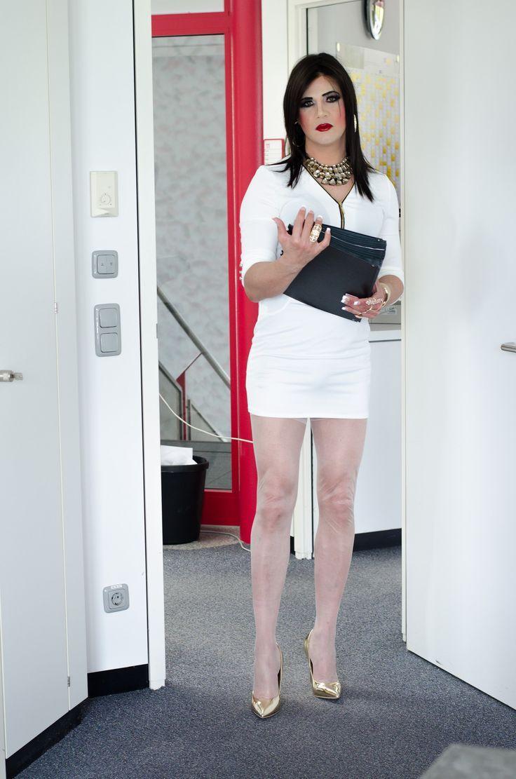 Travestis vestidos de mujer