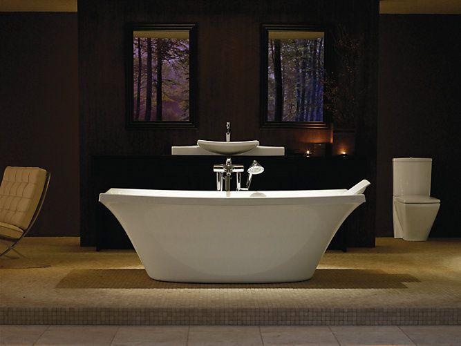 Escale 6 Foot Freestanding Bath | K 11344 | KOHLER