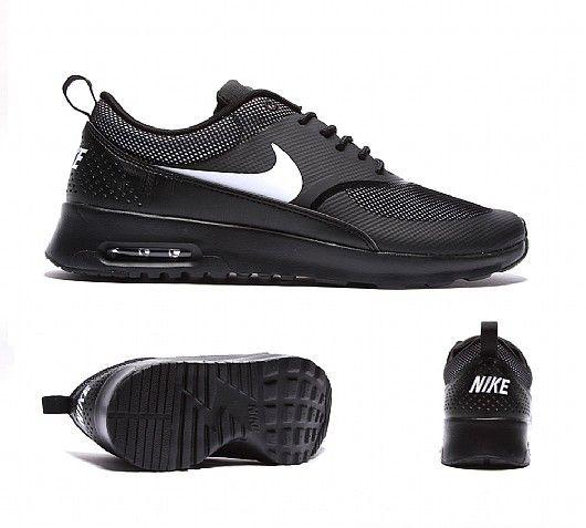 nike air max thea trainers black