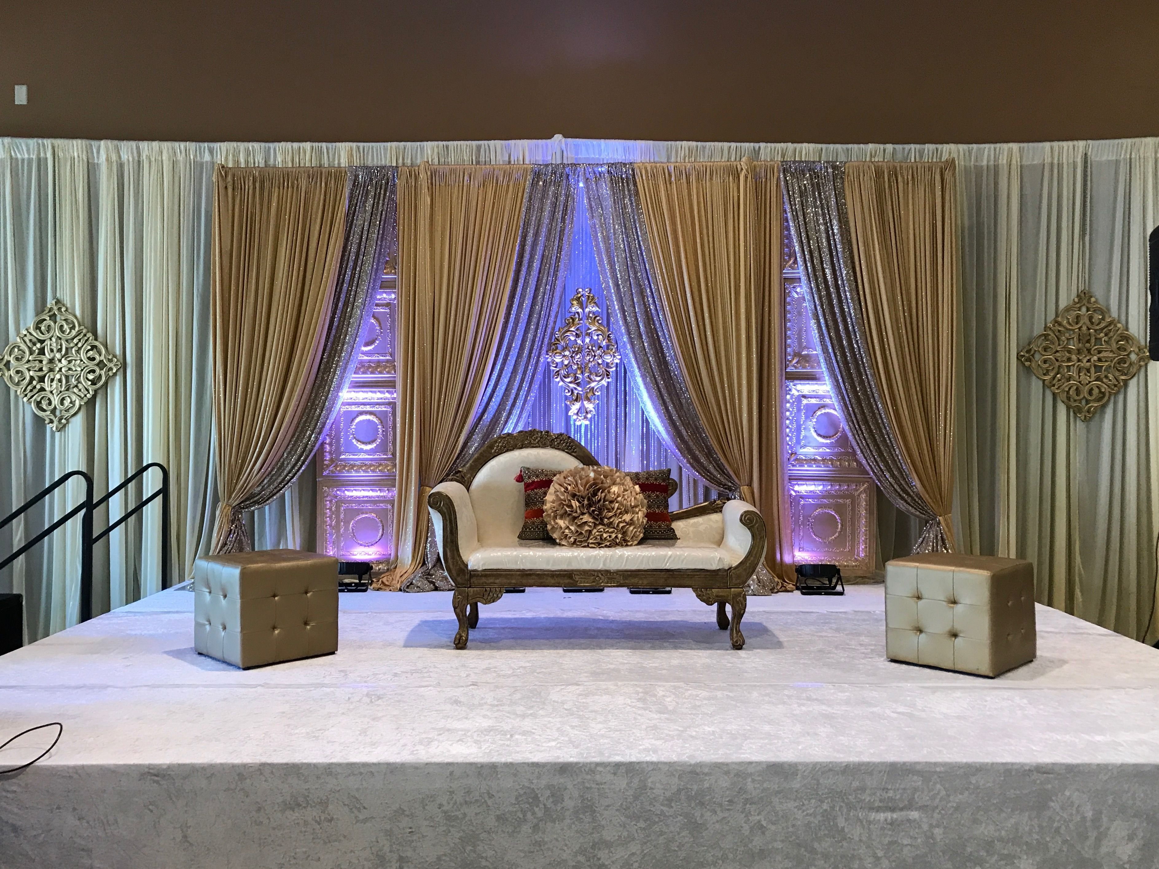 Nigerian wedding stage decoration  Nigerian engagement stage decoration  Wwwnishingtouchdecor