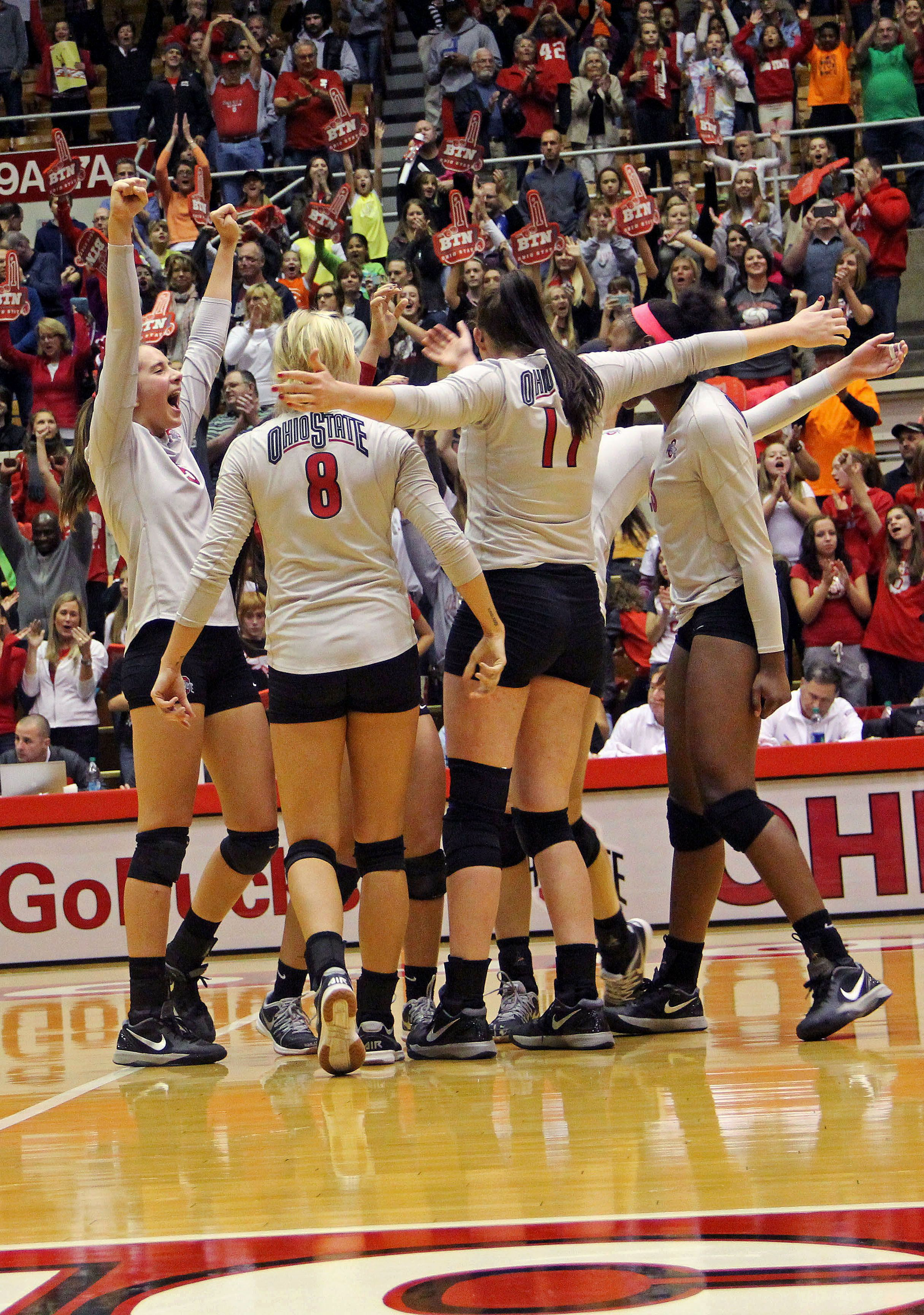 Ohio State Volleyball Makes History Volleyball Ohio State Ohio State Game