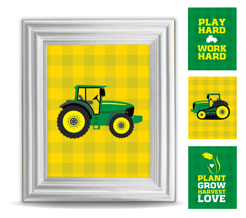 Pin by Chad-Amber McVicker on Kid\'s room | Pinterest | Tractor decor ...