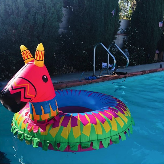 Giant Party Pinata Pool Float Pool Floaties Cute Pool Floats