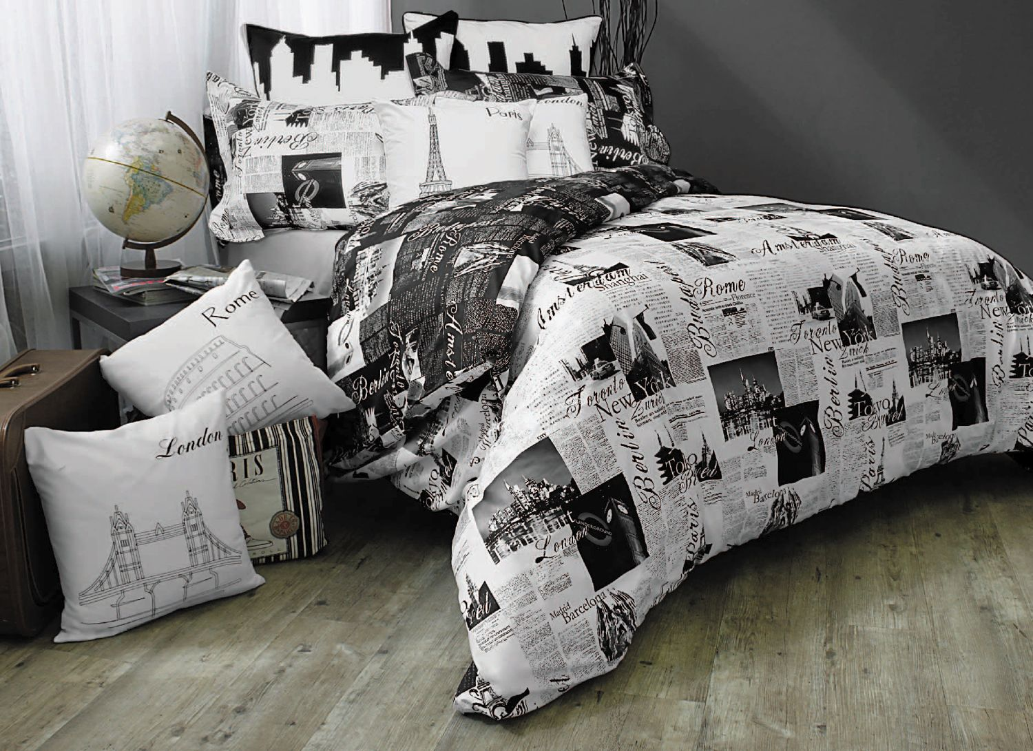 pin bedding sweet sets rockabilly duvets duvet skull comforters and dot