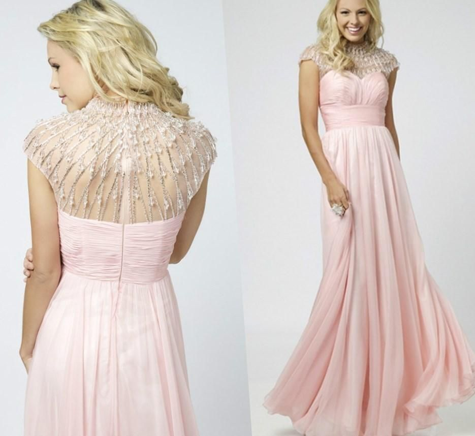 Modest plus size prom dresses - http://pluslook.eu/dresses/modest ...