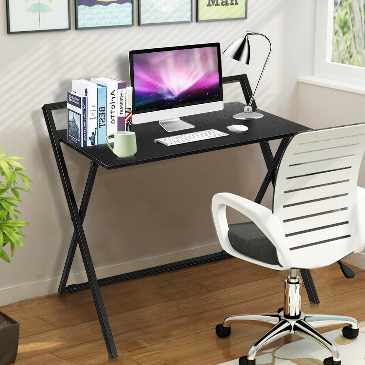 Folding Simple Pc Laptop Writing Table Computer Desk 85 95 Free Shipping This Is The Portable Fold Folding Computer Desk Computer Table Simple Computer Desk