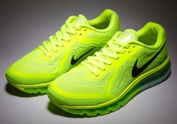 online retailer cbb7c a56e7 Nike Air Max 2014- Volt, Black, Medium Mint, and Electric Green