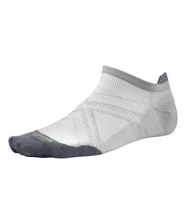 This Silver PhD Run Micro Socks - Adult by SmartWool is perfect! #zulilyfinds