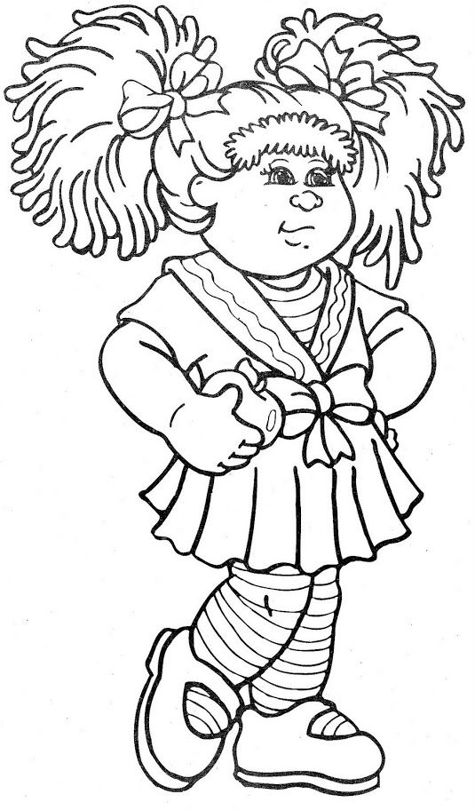Cabbage Patch Kids | Children's Coloring Books ❤♡❤ | Pinterest ...
