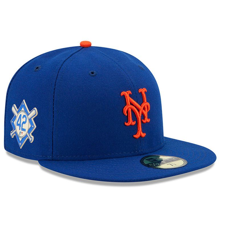 new styles edbc1 29f44 ... canada new york mets new era 2018 jackie robinson day 59fifty fitted hat  royal 86320 43823