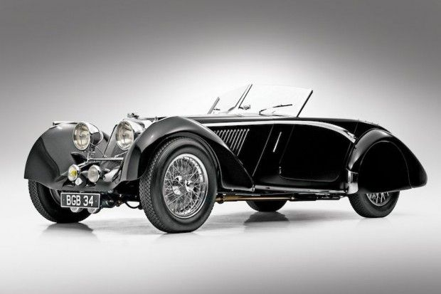 1937 Squire 1.5-Liter Drophead Coupe - Estimate Unavailable. Only Squire bodied by English Corsica coachworks; supercharged Anzani engine; shown at Pebble Beach, Quail; multiple awards including Amelia Island and Mar-a-Lago.