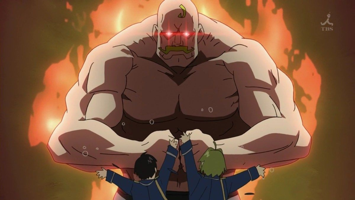 15 Of The Manliest Anime Series For Manly Men Anime Fullmetal Alchemist Brotherhood Characters Fullmetal Alchemist Brotherhood