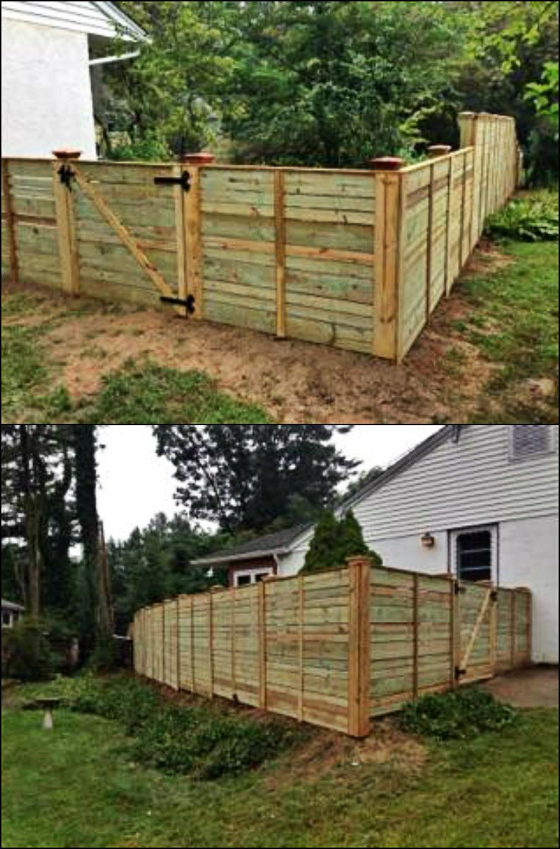 Pin By Fence Authority On Horizontal Fence Designs Fence Design Horizontal Fence Diy Fence