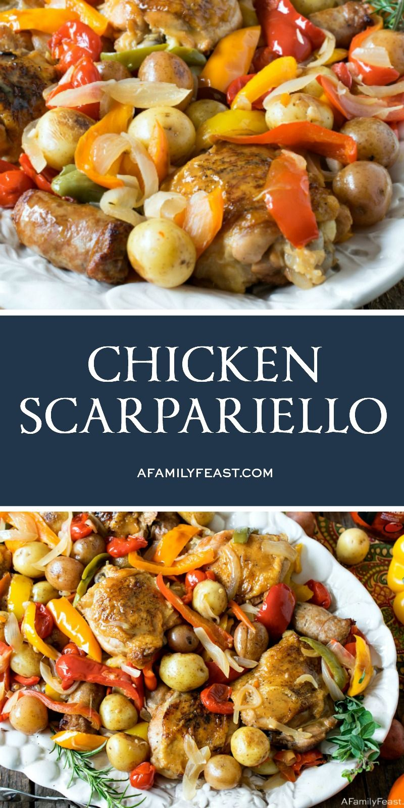 Chicken Scarpariello - A Family Feast