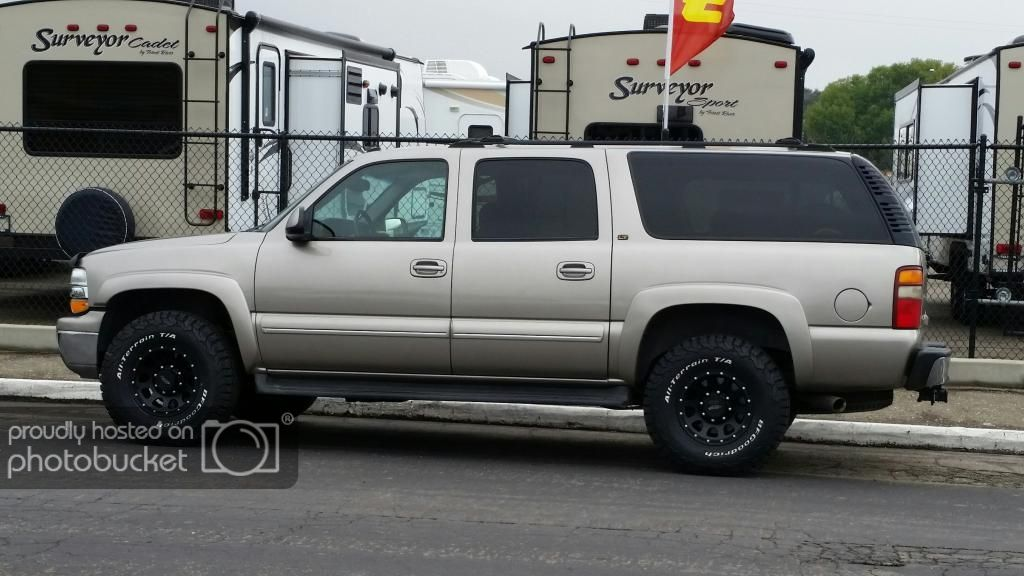 2003 Chevy 2500 Suburban Overland Build Overland Bound