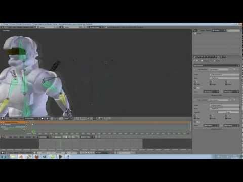 Tutorial : BVH Motion capture files, how I used it  (Blender 2 64