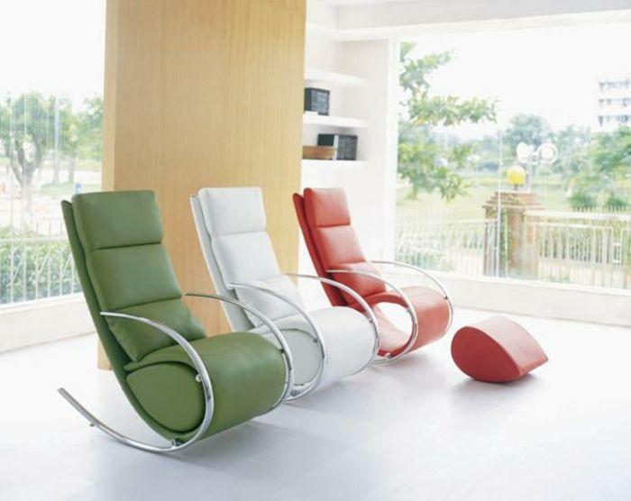 Bahir Wohnzimmermobel Design Dekoration | Schaukelsessel Ideen Modernes Design Trifft Traditionelle