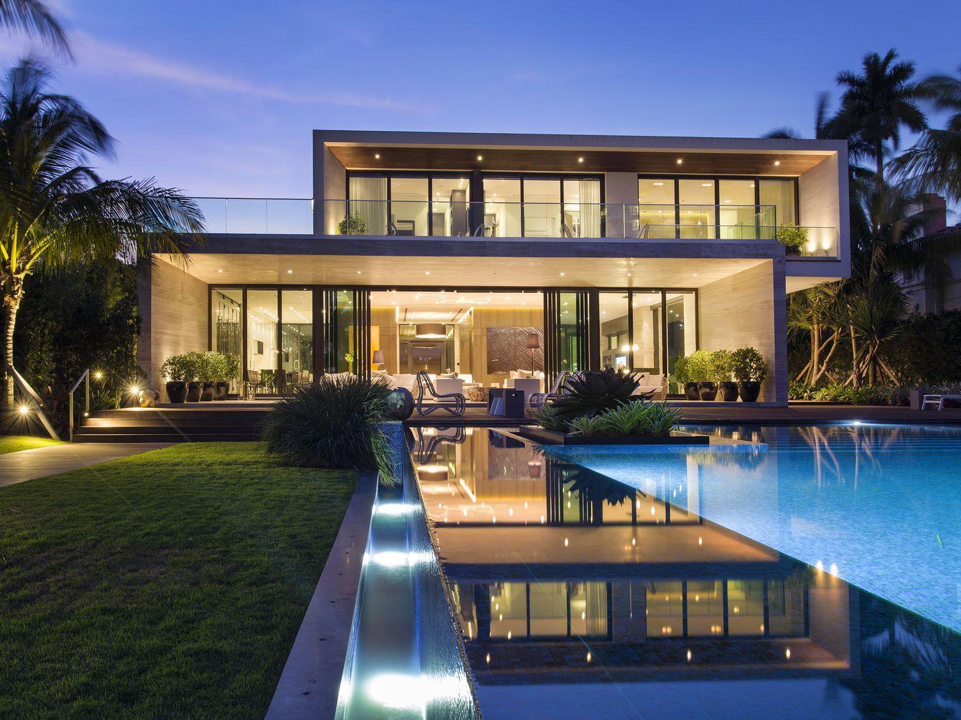 Contemporary Miami Beach mansion sells for $19.25M   Beach ...