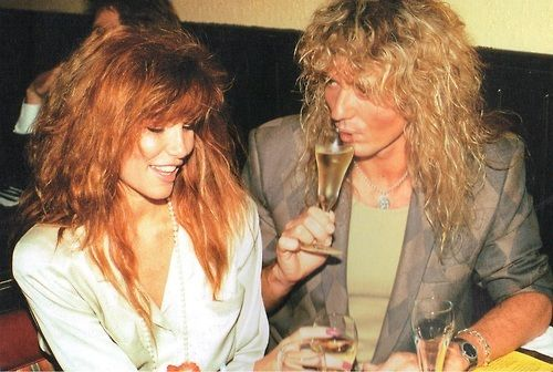 Pin by Coco on Rock N Roll Junkie | Tawny kitaen, David coverdale, Tawny