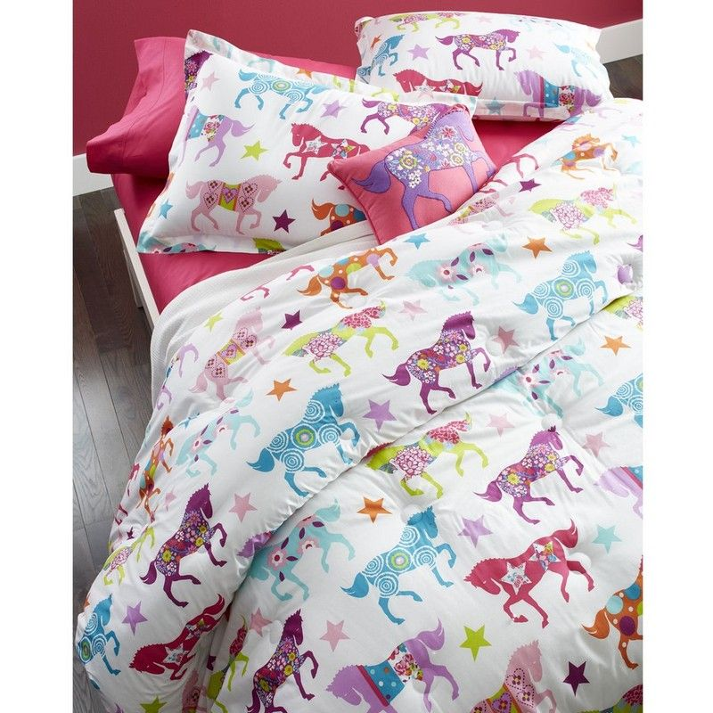 Horse Show Bedding Ride on, colorful cowgirl! Pretty