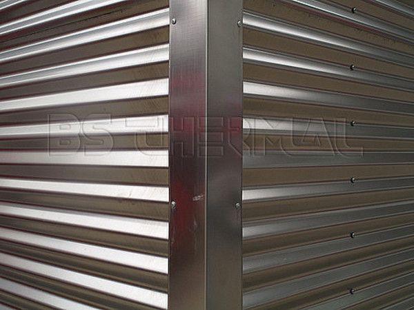 Corrugated Cladding Corner Metal Cladding Cladding Corrugated Metal