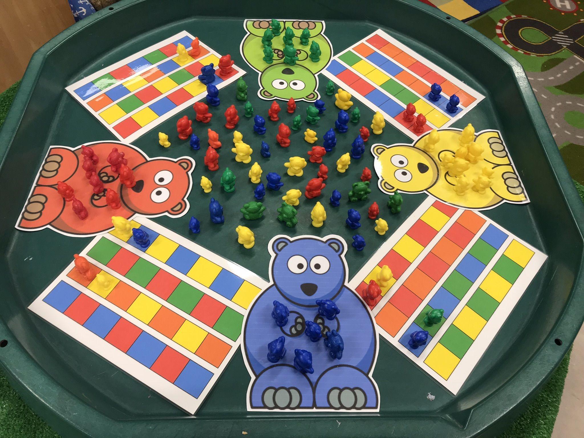 Eyfs Maths Teddy Bear Pattern Making