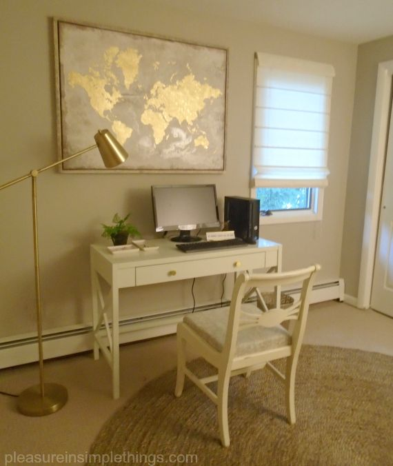 bedroom to office redo diy home office on a budget sources