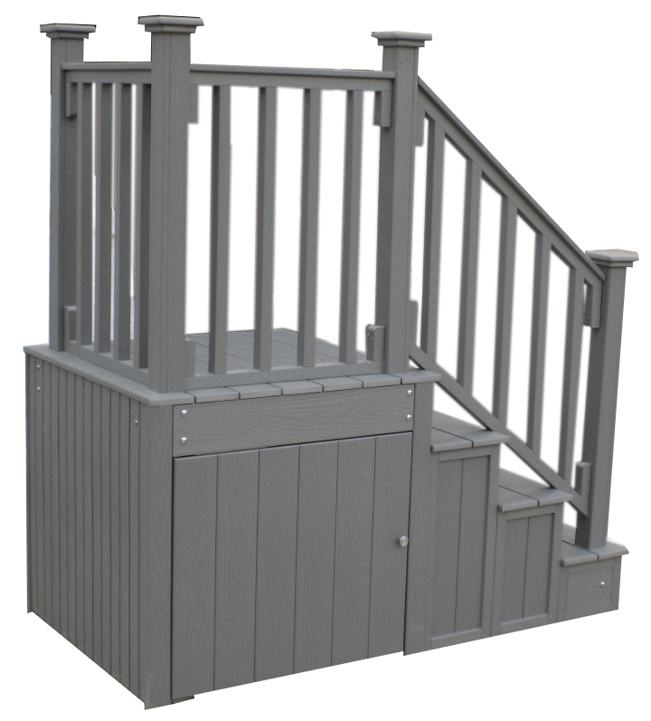 Best 3 Tier 36 Side Entry Enclosed Steps With Heavy Duty 400 x 300