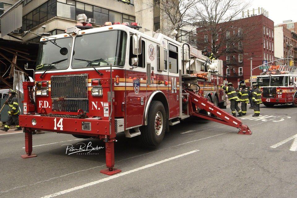 Fdny Tower Ladder 14 Heaven In Harlem Manhattan Fdny