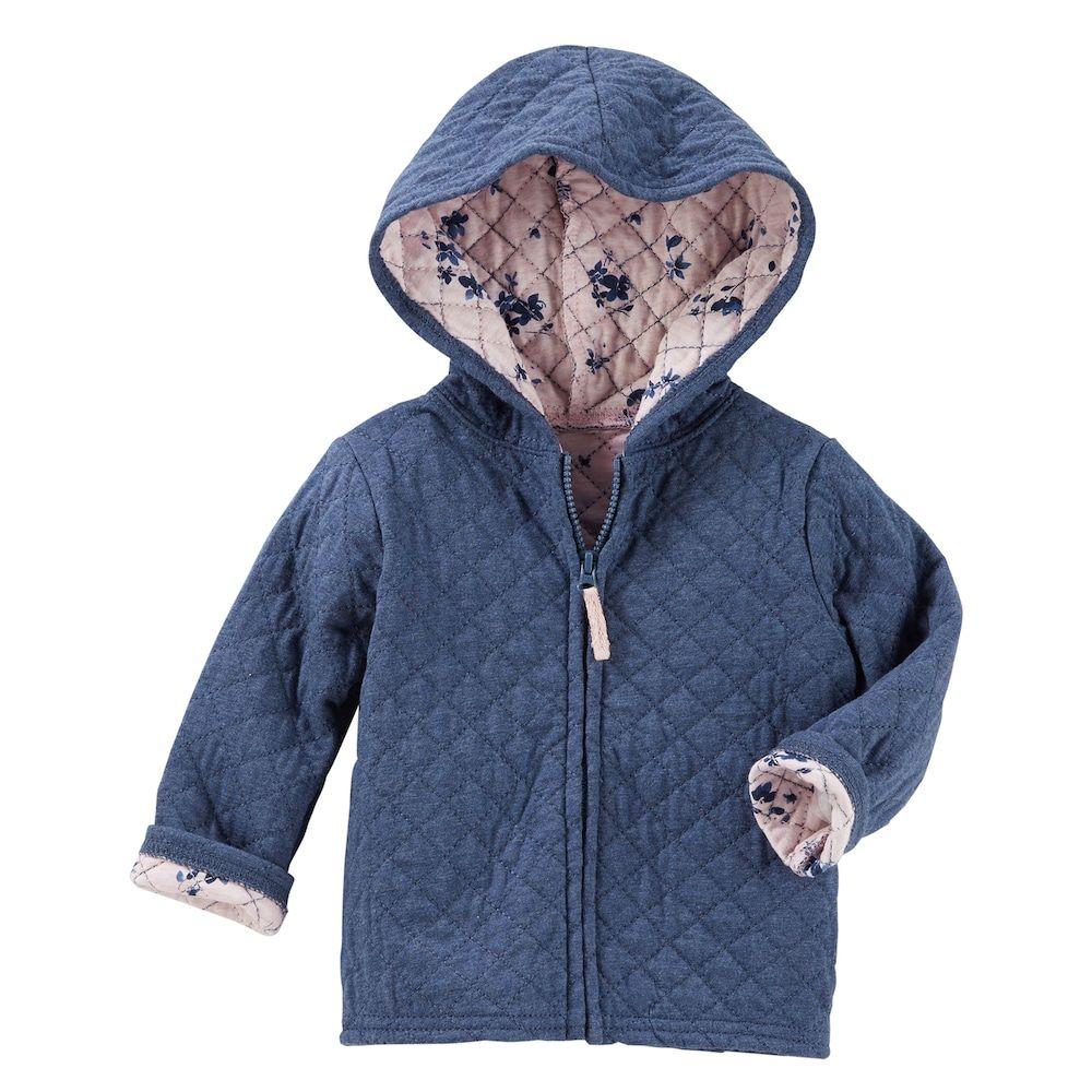 bff4f3f4af5a Baby Girl OshKosh B gosh® Quilted Floral Lined Lightweight Jacket ...