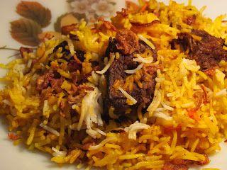 Nasi Briyani Daging Resep Makanan Resep Masakan Asia Resep Masakan Malaysia