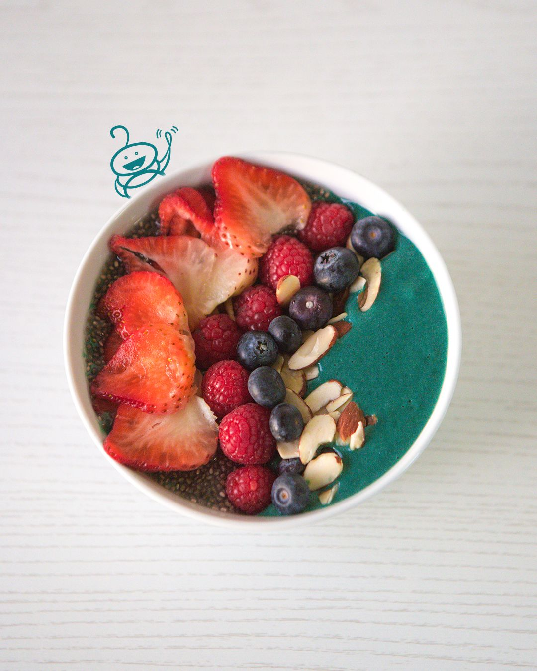 Spirulina Smoothie Bowl Kos Spirulina Smoothie Smoothie Bowl Spirulina