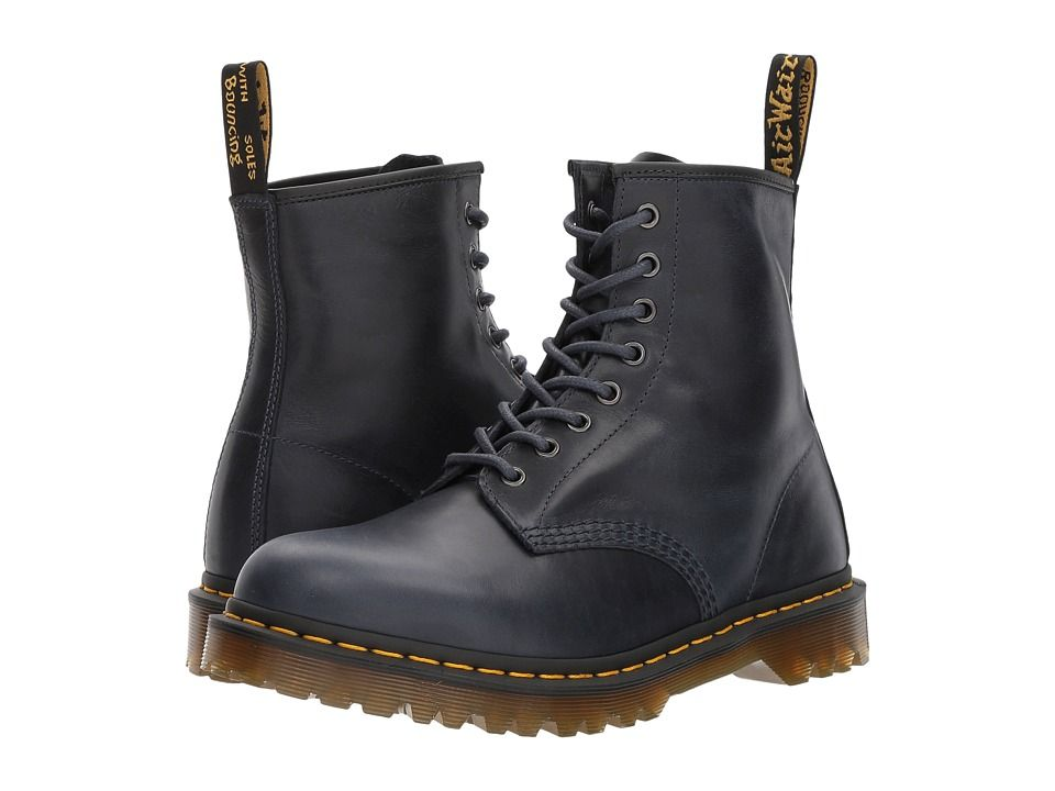 7aee6fbd9b3 Dr. Martens 1460 Men's Boots DMS Navy Orleans | Products | Shoe ...