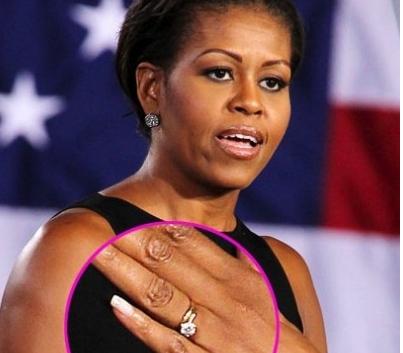 Michelle Obama engagement ring wwwthediamondconsignmentstorecom