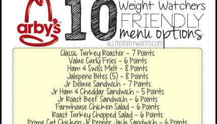 Best weight watchers fast food options