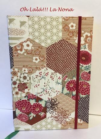 Encuadernación artesanal en tela de algodón