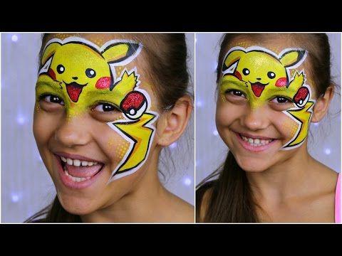 Pokemon Go Pikachu Makeup For Kids Face Painting Tutorial