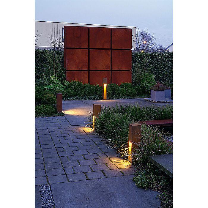 SLV Rusty Slot Pollerleuchte Garten Pinterest Slot