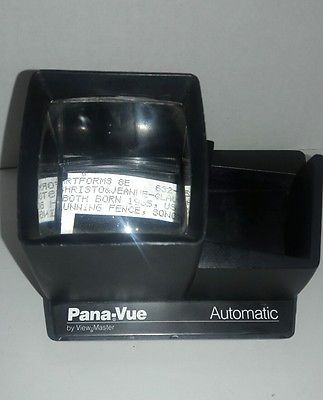 Vintage Pana-Vue Automatic Slide Viewer by View Master