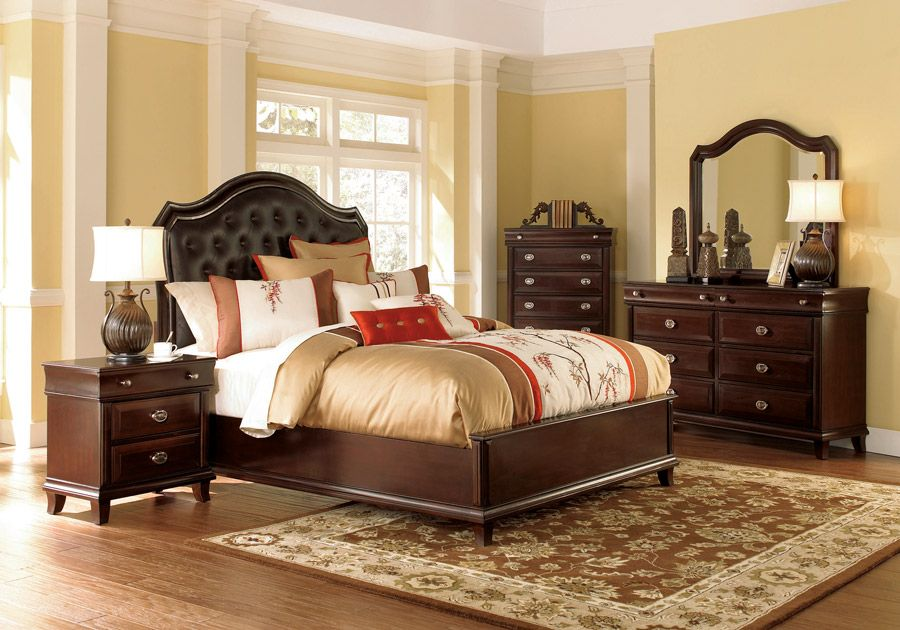 Park Avenue 5 Pc Queen Bedroom Badcock Home Furniture