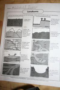 worksheet: Super Teacher Worksheets Landforms Blank Us Map For ...
